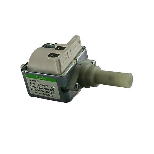 Bomba Eléctrica Bomba Ulka EP 5 GW con 230 V 48 W 15 bar ignífugo ...