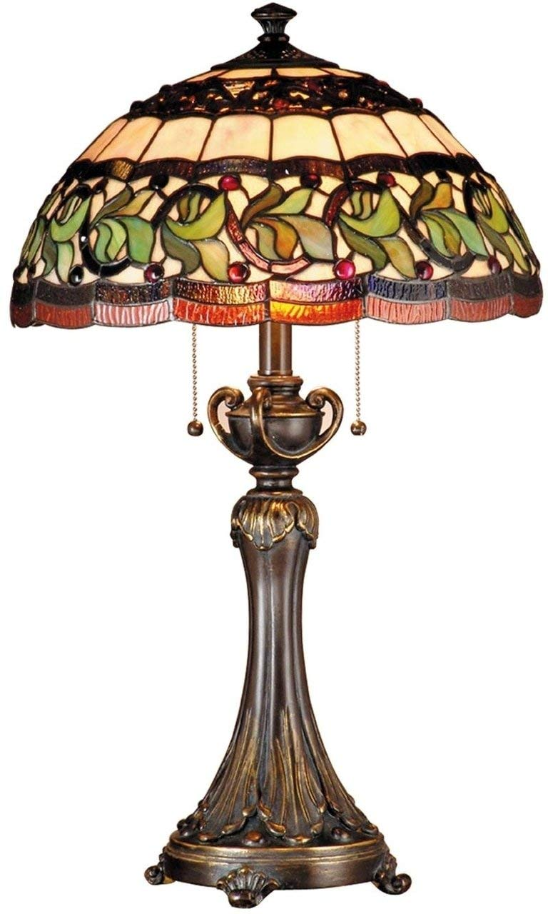 Dale Tiffany TT101110 Aldridge Table Lamp, Bronze