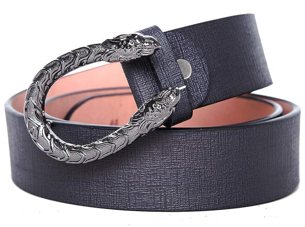 1be600aa444 TangSong Ceinture en cuir de luxe imprimée serpent corail pour femme   Amazon.fr  Vêtements et accessoires