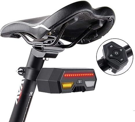 lututy Luces Traseras Inteligentes para Bicicletas De Montaña ...