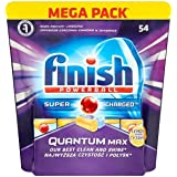 Finish Powerball Super Charged Quantum Lemon 54 Tablets 837g