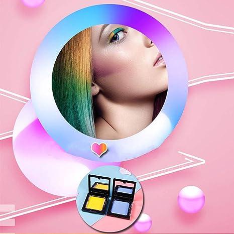 Rarvis - Tinte para el cabello en polvo, 4 colores, colorante ...