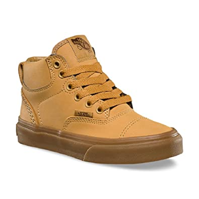 ef24bfa055 Image Unavailable. Image not available for. Color  Vans Era Hi Vansbuck  Light Gum Kids Skate Shoes ...