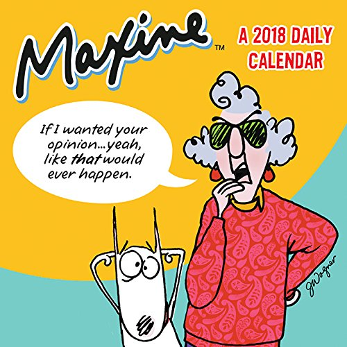 Maxine 2018 Daily Calendar