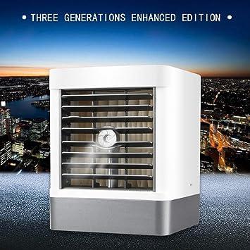 Qiutianchen Aire Acondicionado Refrigerador de Aire/purificador de Aire Hogar Oficina USB Pequeño Fuerte Typhoon Refrigeración de Escritorio: Amazon.es: Hogar