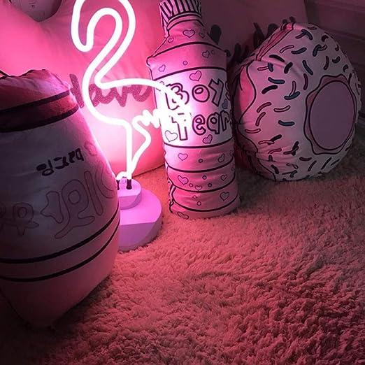 SiJOO Nueva luz de Noche de neón LED lámpara de Mesa ...