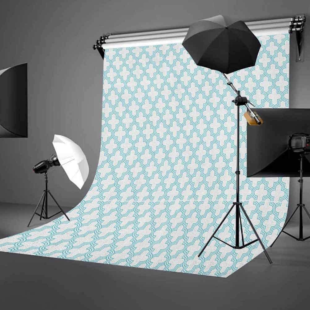 7x10 FT Abstract Vinyl Photography Backdrop,Colorful Dots Interconnection Themed Modern Technology Illustration Science Image Background for Photo Backdrop Baby Newborn Photo Studio Props