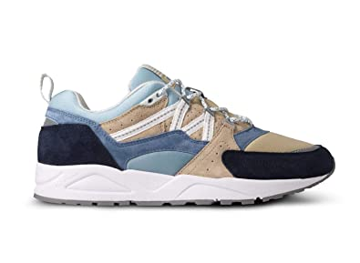 d38bbd203f598 Amazon.com | Karhu Men's Fusion 2.0 Blue and Beige Suede and Nylon ...