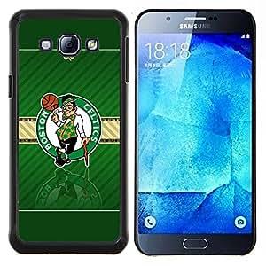 Qstar Arte & diseño plástico duro Fundas Cover Cubre Hard Case Cover para Samsung Galaxy A8 A8000 (Boston Celtic Baloncesto)