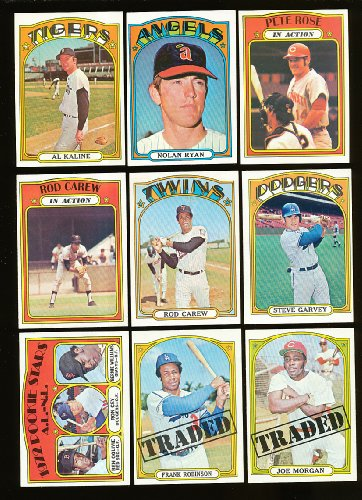 1972 Topps Baseball Complete 787 Card Set Cpntains Hall o...