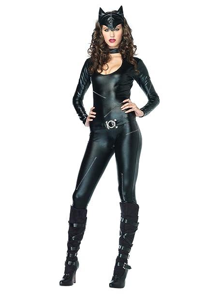 Catsuit schwarz