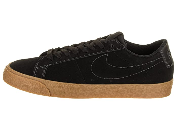 separation shoes c7495 5a084 Nike SB Zoom Blazer Low Mens Trainers Black Gum - 7 UK  Amazon.co.uk   Sports   Outdoors
