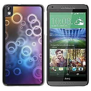 LECELL--Funda protectora / Cubierta / Piel For HTC DESIRE 816 -- Patrón de timbre --