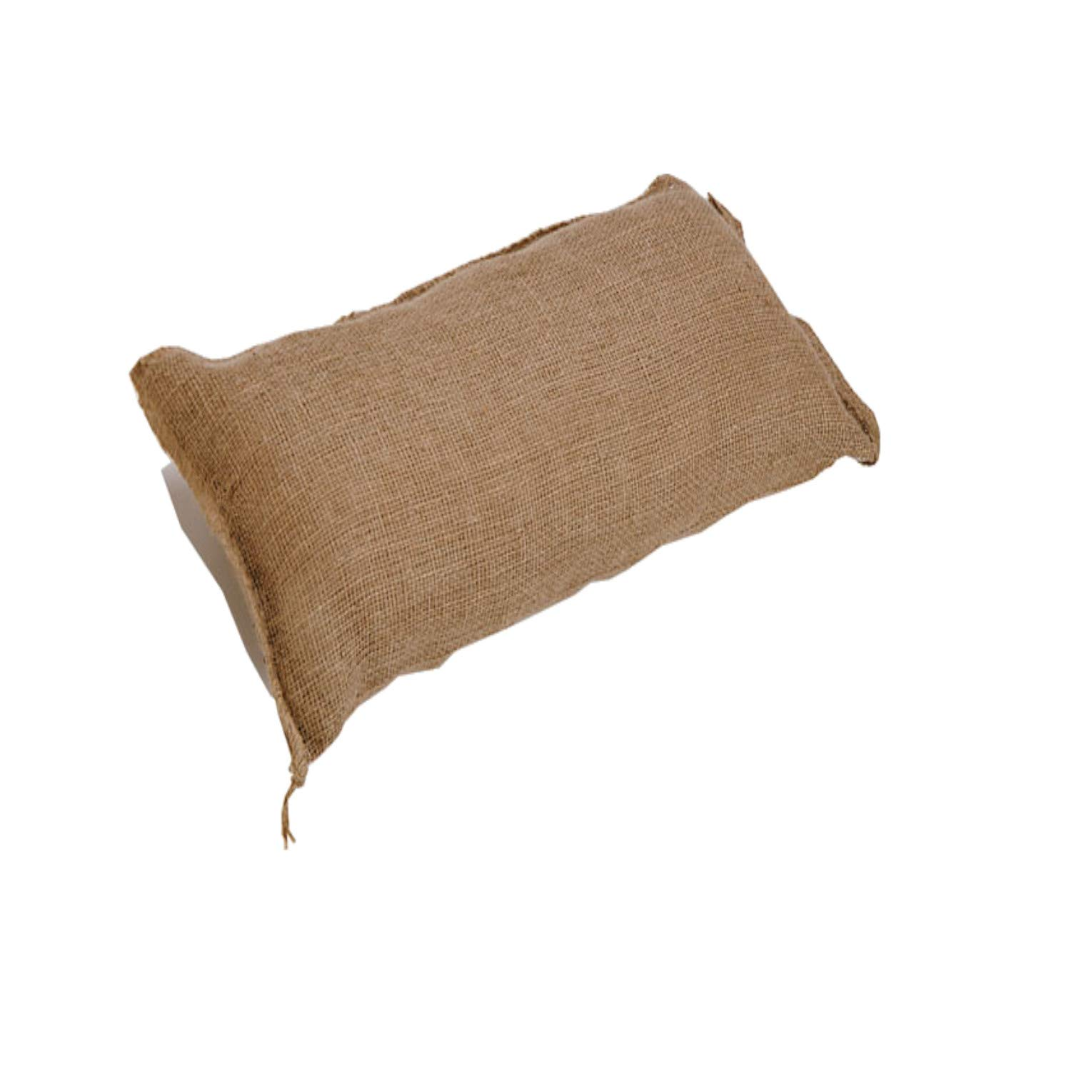 Pack of 10 Yuzet Hessian Sand Bags with Ties Flood Protection Sack sandbag sandbag with Ties Flooding Prevention Qty Discounts Available Military