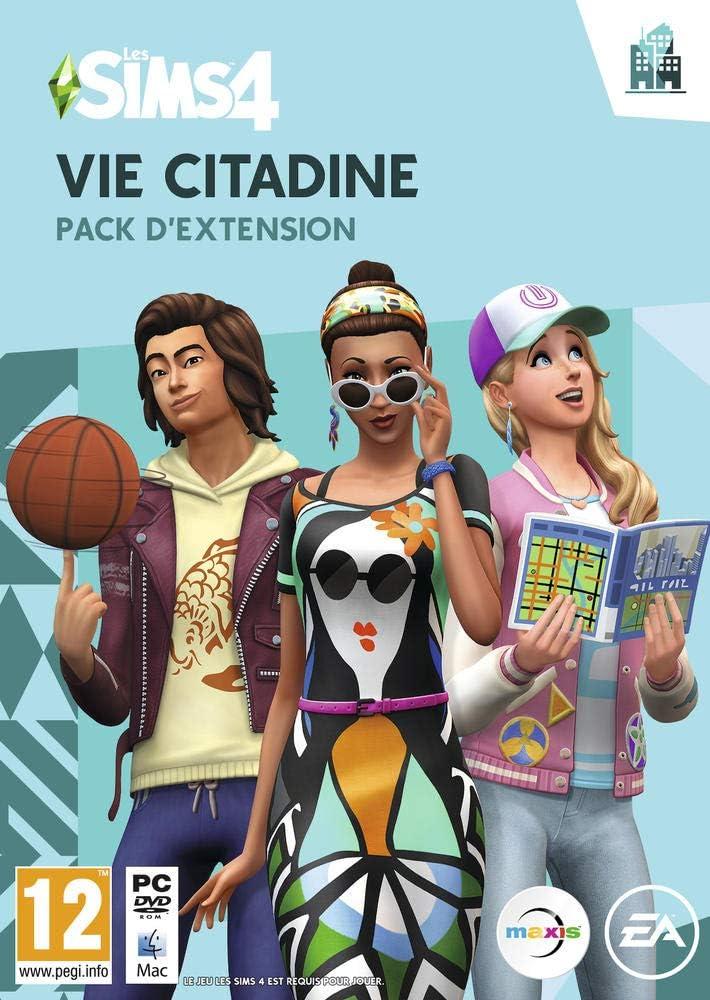 Les Sims 4: Vie Citadine [Importación Francesa]: Amazon.es ...