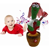 """Dancing Cactus Toy,Shaking, Recording, Singing, Talking toys, """"Repeat your speech"""" Plush Stuffed Gift For Toddler, Baby…"""