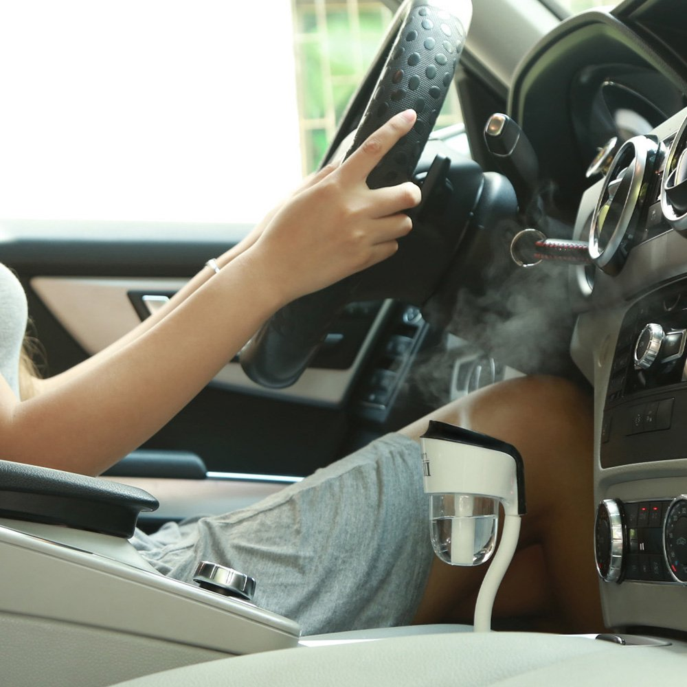 Kobwa Portable Mini Car Humidifier And Aromatherapy Essential Oil Diffuser Ul.. 14