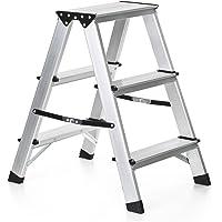 IKayaa Échelle à 2 étages pliable 330 pouces Capacité en aluminium sans escalier en aluminium