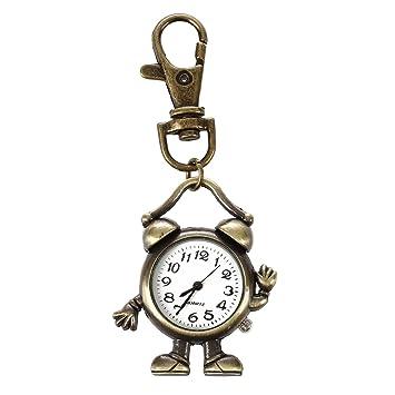 Amazon.com: Llavero Cadena con Clock- TOOGOO (R) Retro ...