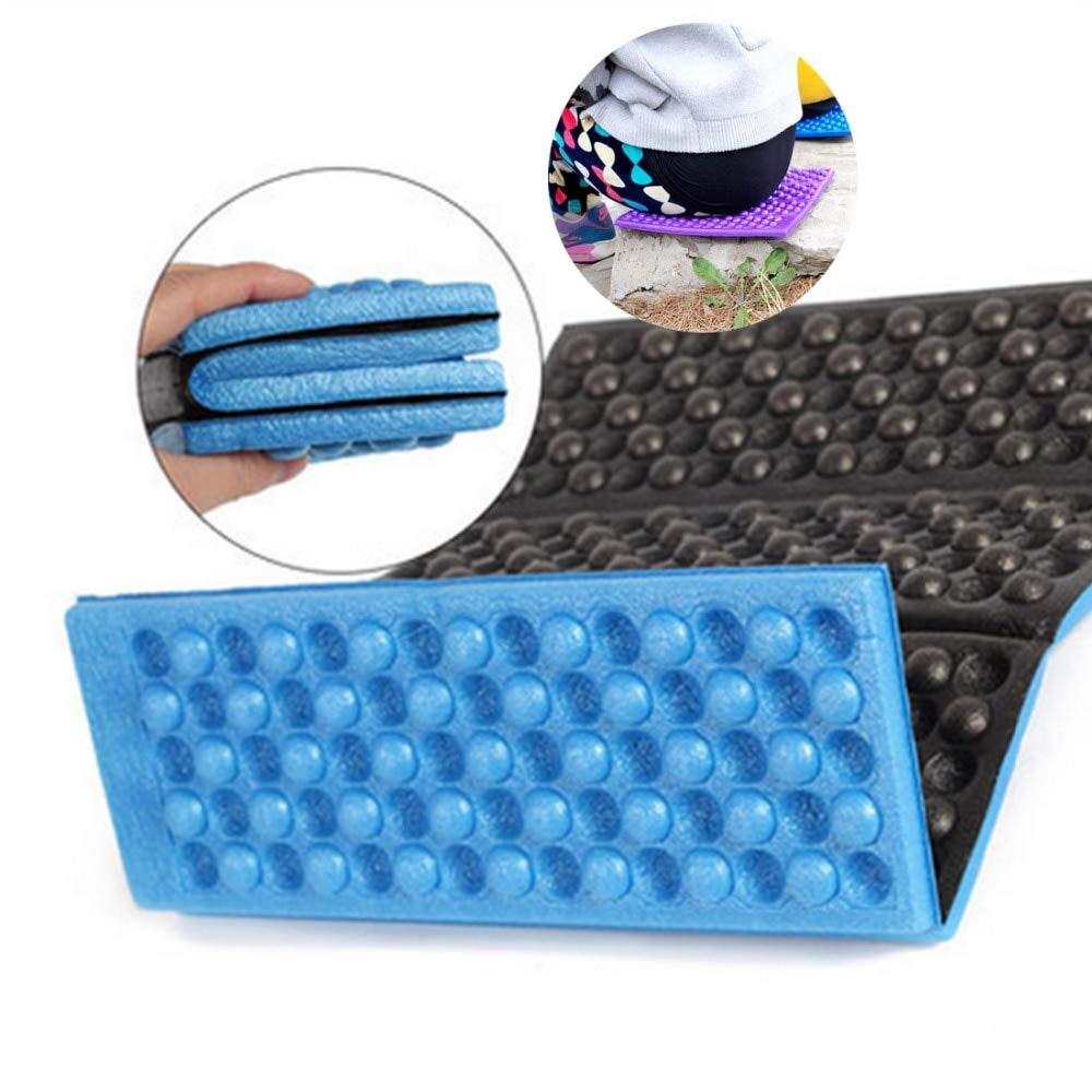 qianzhi Faltbare Falten Outdoor-Camping Matte Seat Feuchtigkeits sicheres Kissen Tragbare Wasserdichte SchaumStoffPolster Yoga-Stuhl Picknick NaturWanderung Pad