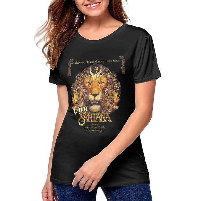 Amazon.com: Santana - Camiseta de manga corta transpirable ...