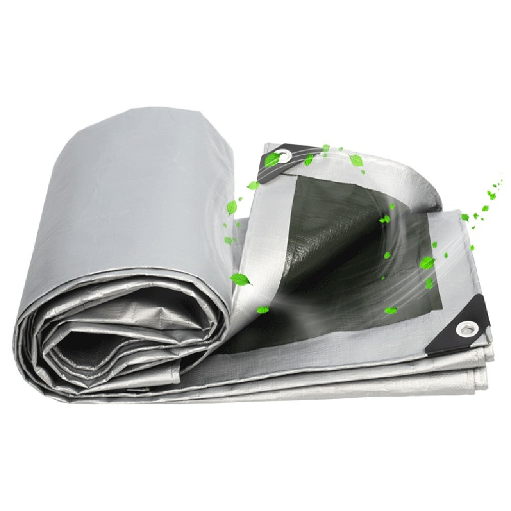 LIXIONG オーニング サンシェード雨布 シェード 防塵 カーポートクロス、 ポリエチレン、 厚さ0.35mm、 180g / m2 16サイズ ( サイズ さいず : 8x10m ) B07C6HSSR7 12812 8x10m  8x10m