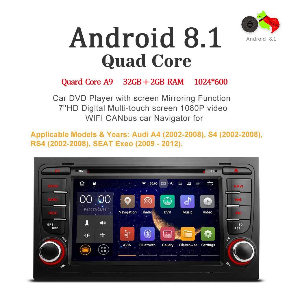Freeauto para Audi A4/S4/RS4/Seat Exeo 7
