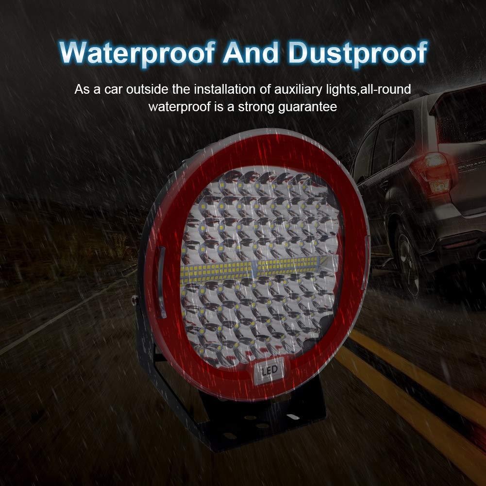 LED Pod Lichtleiste 7 Safego 2Pcs 300W 24000Lm Wasserdichte runde Arbeitslichtleiste Spot Beam Offroad Licht Driving Nebelscheinwerfer Dach Lichtleiste f/ür SUV Boot 4x4 J-eep 2 Jahre Garantie