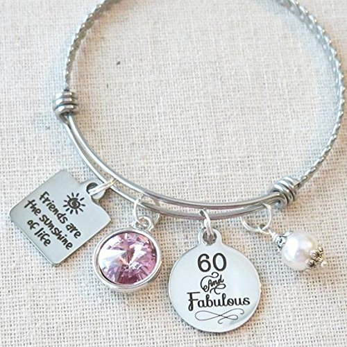 June Alexandrite Birthstone Birthday Gifts 60th BIRTHDAY Gift For Her Milestone
