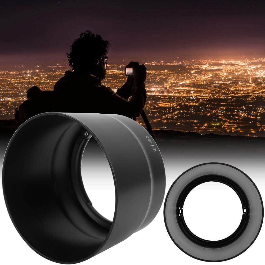 Pomya Camera Lens Hood for Canon,ET-63 Camera Mount Lens Hood 58mm for Canon EF-S 55-250mm F//4-5.6 is STM Lens,Lens Hood