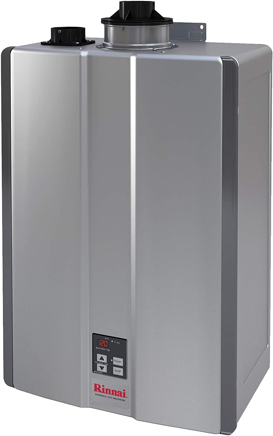 Rinnai RUR Series Sensei SE+ Tankless Hot Water Heater: Indoor Installation