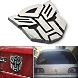 Hot Energy 3D Logo Protector Autobot Transformers Emblem Badge Graphics Decal Car Sticker (Autobot)