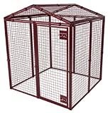 Animal House Heavy Duty Gable Covered Protective Pet Kennel (6.2'Hx5'Lx5'W) 128.2 lbs review