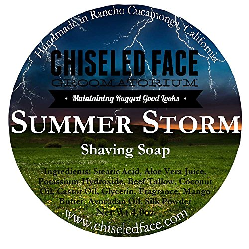 Chiseled face profile
