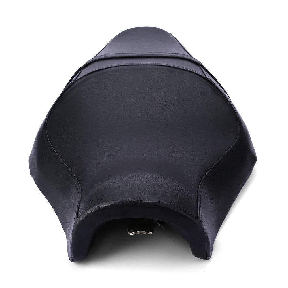 Negro DishKooker Sill/ín para Asiento de Conductor y Pasajero para Harley Sportster XL883N 1200N