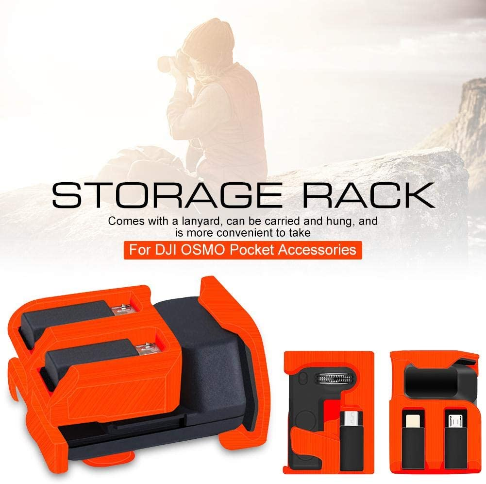 Storage Rack with Hand Rope Carry Case For OSMO Pocket Accessories