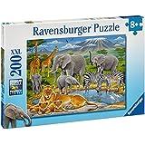 Ravensburger 12736  - Puzzle de 200 piezas de animales de África