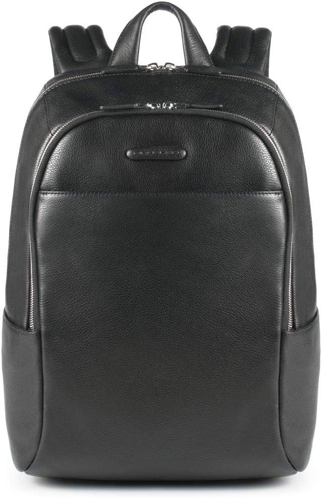 PIQUADRO Backpack Modus Male Leather Black - CA3214MO-N