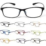 MIDI-ミディ 10カラーで遊べる老眼鏡 【Colors】 おしゃれ レディース メンズ ブルーライトカット ライトブラウンデミ (M-209,C10,+1.50)