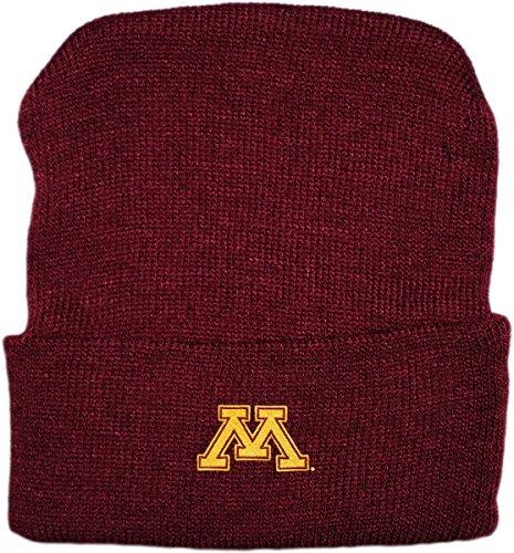 Merchandise Minnesota Gophers - Creative Knitwear University of Minnesota Golden Gophers Newborn Knit Cap
