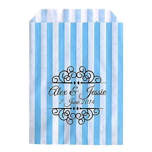 Bolsas de bodas para confeti, gominolas o regalos.: Amazon ...