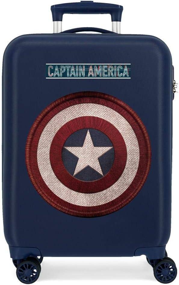 Maleta de Cabina Captain America rígida 55cm