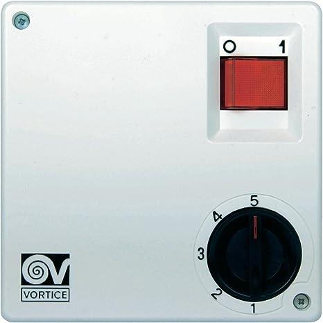 Vortice SCNR5 5channels Blanco Controlador de Velocidad de ...
