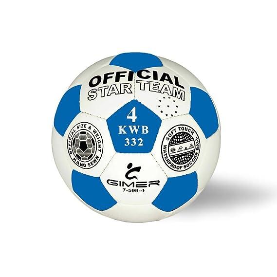 Star team - Balón de fútbol tamaño 4: Amazon.es: Deportes y aire libre
