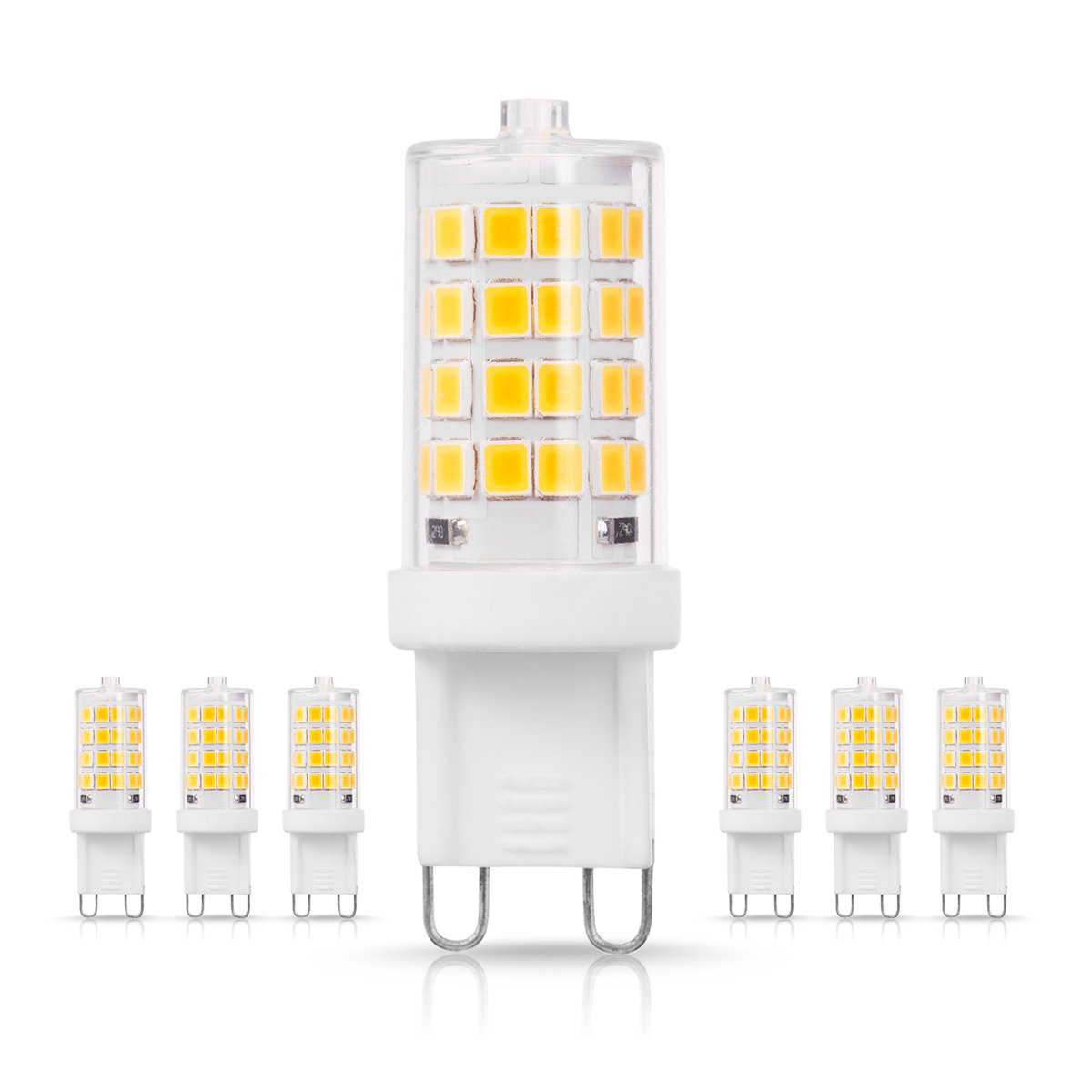 Home Decorative 4Pack 20W Equivalent DORESshop C7 Blue Mini Candelabra LED Bulb C7 LED Bulb No Dimmable 2W Clear Glass Cover E12 Candle Base 200Lumens Night Light Suitable for/Front Porch