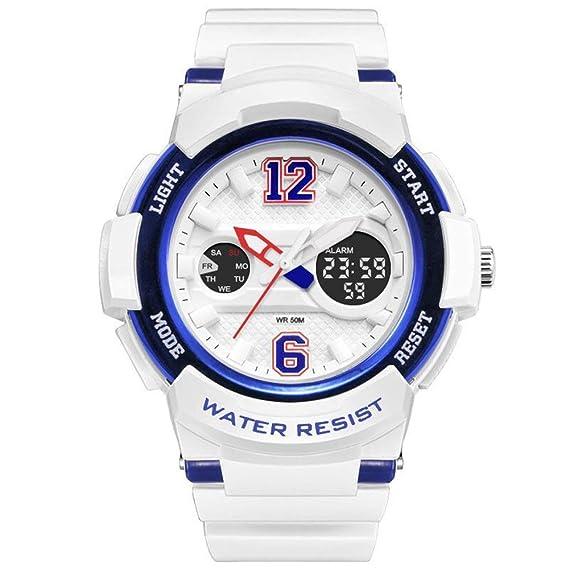 LPLLPL Reloj de Cuarzo para Mujer. Reloj Digital. Estuche 3D ...