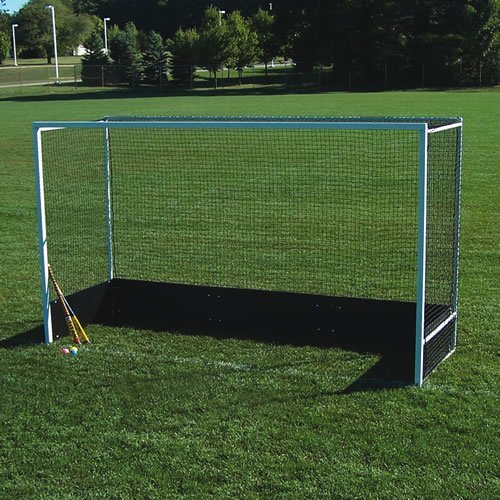 Official Field Hockey Goals with Bottom Boards - Set of 2