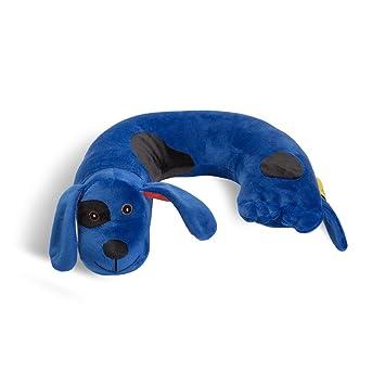 Critter Piller Kidu0027s Neck Pillow, Blue Dog