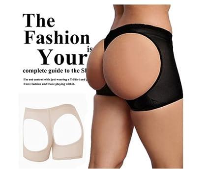 82660cc7f SeTing Women Sexy Butt Lifter Mesh See Through Butt Enhancer Tummy Control  Butt Shaper Ladies Booty