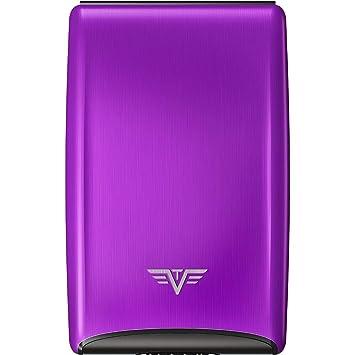 818f822624c3 Tru Virtu Étui pour cartes de crédit Housse pour carte bancaire 10 mm  Violett